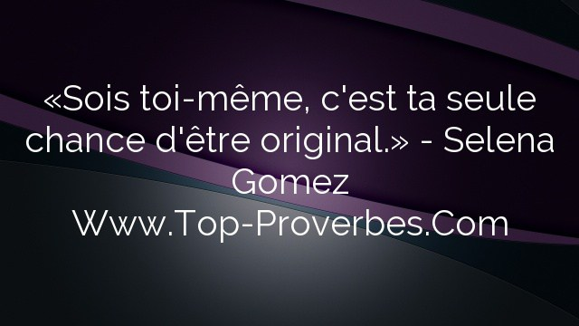 proverbe original