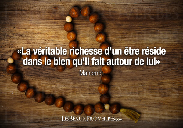 proverbe richesse